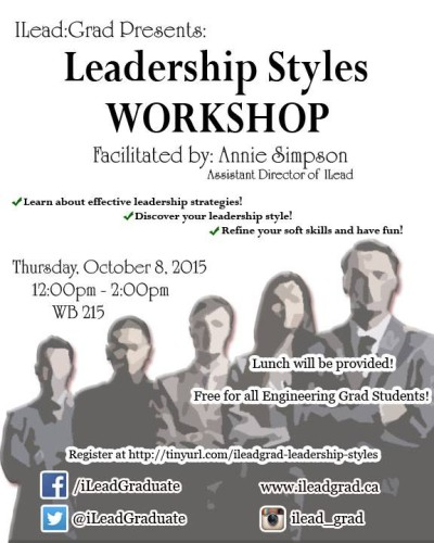 Leadership Styles  Workshop